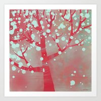 blossom Art Prints featuring Blossom by Nic Squirrell