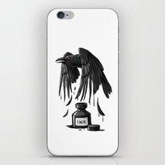Ink Raven iPhone Skin