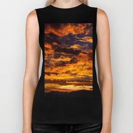 Sunset from Joshua Tree Biker Tank
