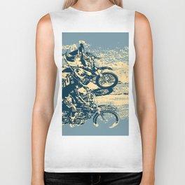 Dirt Track - Motocross Racing Biker Tank