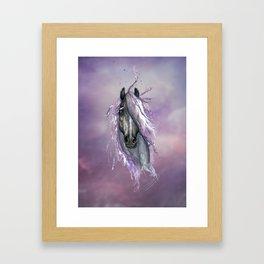 Violet Horse Framed Art Print