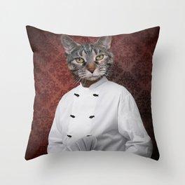 Chef Lola Throw Pillow
