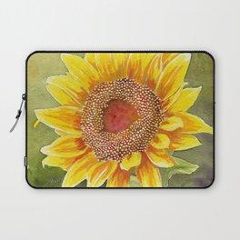 Sunflower–Watercolor Laptop Sleeve
