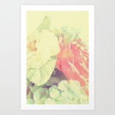 Simply Pastel Art Print