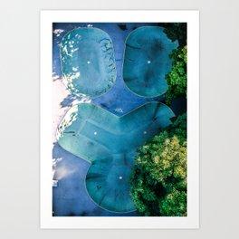 Skatepark - Aerial Photography Art Print