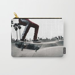 Venice Skatepark II Venice Beach Skatepark Skateboarding poster Skateboarding print Carry-All Pouch