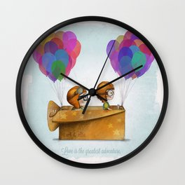 lil up Wall Clock