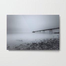 1046248 Clevedon Pier Metal Print