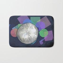 send me the moon Bath Mat