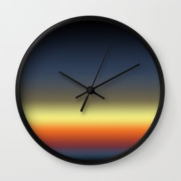 Dusk Wall Clock