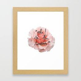 ah! si tu savais! Framed Art Print