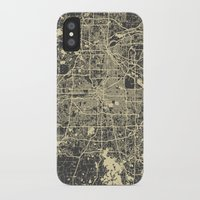 minneapolis iPhone & iPod Cases featuring Minneapolis Map by Map Map Maps