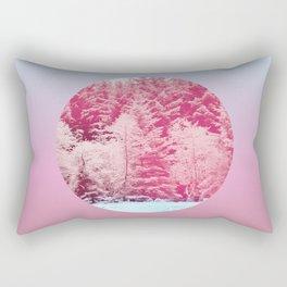 Candy pine trees lens Rectangular Pillow