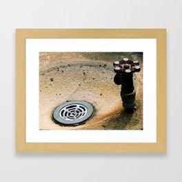 Drink of Water Framed Art Print