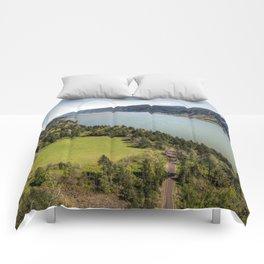 Columbia River Gorge Washington Comforters