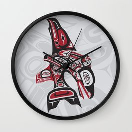 Eagle Fin Orca Lund Wall Clock