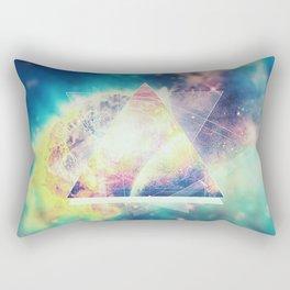 Awsome collosal deep space triangle art sign Rectangular Pillow