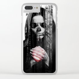 Death Waits Clear iPhone Case
