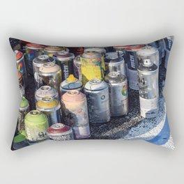 An Artist's Tools Rectangular Pillow