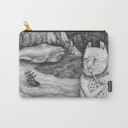 The Whale, The Castle & The Smoking Cat Carry-All Pouch