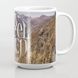 Travel to the Mountains Coffee Mug