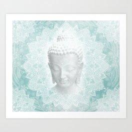 Buddha Dream Mandala Spiritual Zen Bohemian Hippie Yoga Mantra Meditation Kunstdrucke