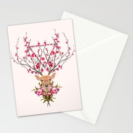 Spring Deer Stationery Cards