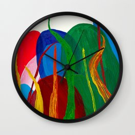 Fire And Growth Wall Clock
