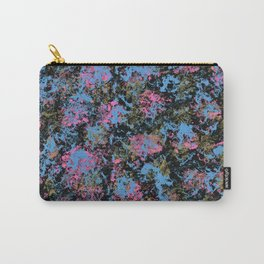 Poppin Pink, Blue, and Gold Carry-All Pouch