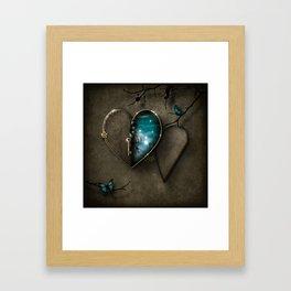 Secret Journey of the Heart Framed Art Print