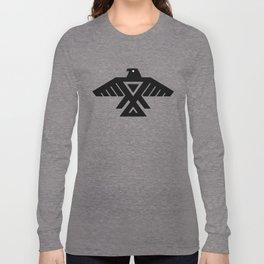 Native American Thunderbird Symbol Flag Long Sleeve T-shirt