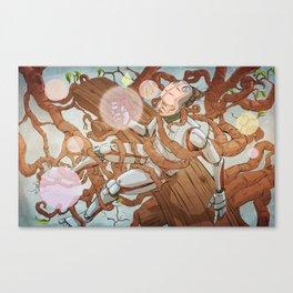 symbiotic bot Canvas Print