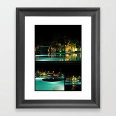 Playitas Pool  Framed Art Print