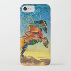 The Wind of Time (Red Horse) iPhone 7 Slim Case
