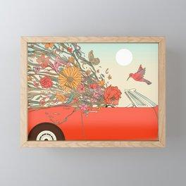 Passing Existence Framed Mini Art Print