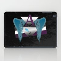 asexual iPad Cases featuring The Ace of Diamonds by drQuill