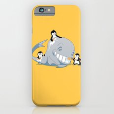 penguins and a whale iPhone 6s Slim Case