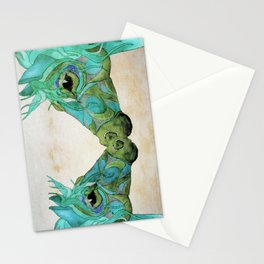 Blue Horses  Stationery Cards