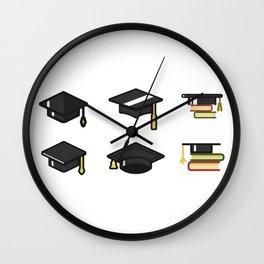 Academic Cap Wall Clock