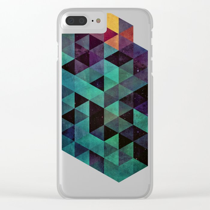 dyyp tyyl Clear iPhone Case