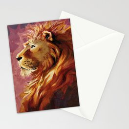 Proud lion Stationery Cards