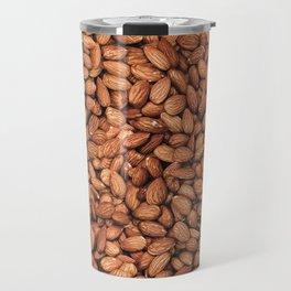 Organic Almond Photo Food Pattern Travel Mug