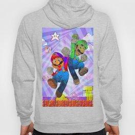 Pop Art Mario Brothers Hoody