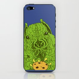 cthulhu wants a cookie iPhone Skin
