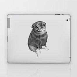Sweet Black Pug Laptop & iPad Skin