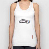 bmw Tank Tops featuring BMW CSL Turbo by Remove Before . . .