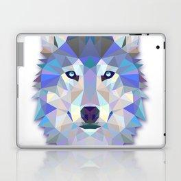 Colorful Wolf Laptop & iPad Skin