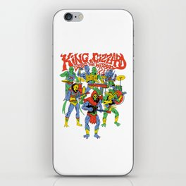 king gizzard and the lizard wizard iPhone Skin