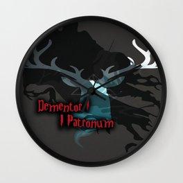 Dementor Patronum Wall Clock