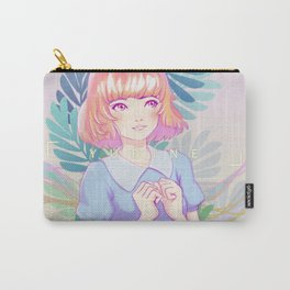 Lovely Ferns Carry-All Pouch